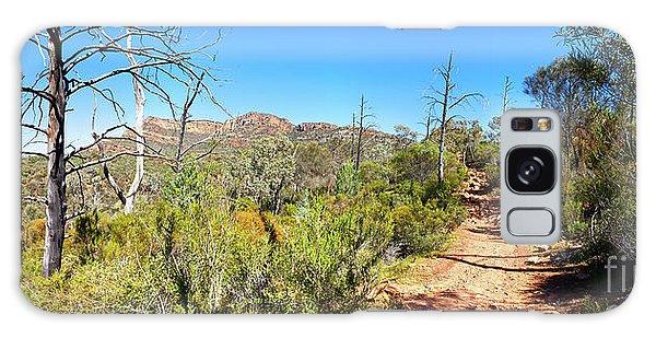 Arkaroo Rock Hiking Trail.wilpena Pound Galaxy Case by Bill Robinson