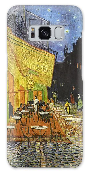 Arles Cafe Terrace At Night Galaxy Case