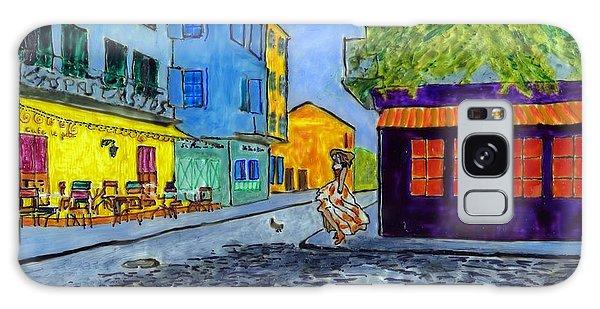 Arles Morning Galaxy Case