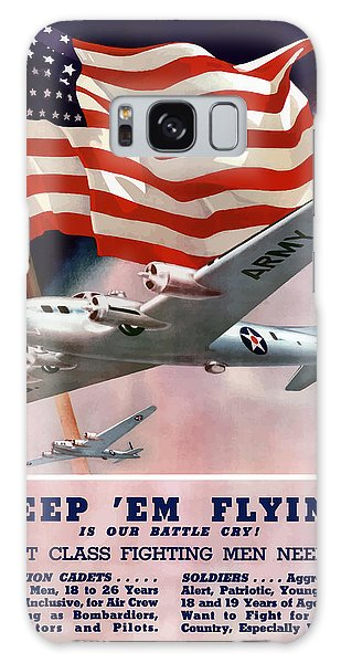 Americana Galaxy Case - Army Air Corps Recruiting Poster by War Is Hell Store