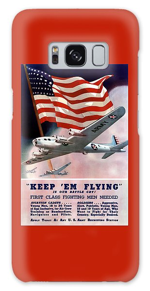 Political Galaxy Case - Army Air Corps Recruiting Poster by War Is Hell Store