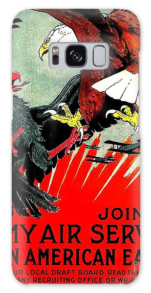Army Air Service Recruitment Poster 1918 Galaxy Case