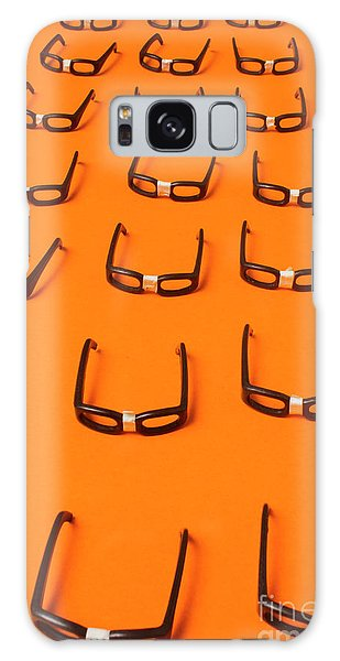Smart Galaxy Case - Army Of Nerd Glasses by Jorgo Photography - Wall Art Gallery