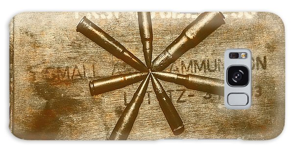 Indoors Galaxy Case - Army Star Bullets by Jorgo Photography - Wall Art Gallery