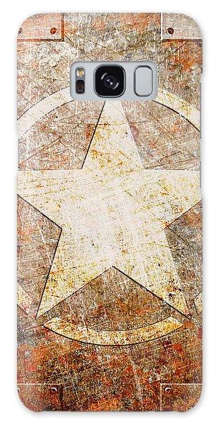 Army Star On Rust Galaxy Case