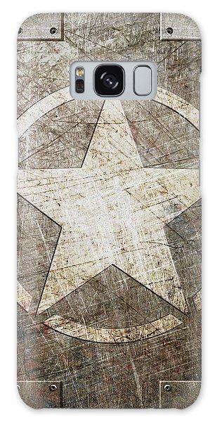 Army Star On Steel Galaxy Case