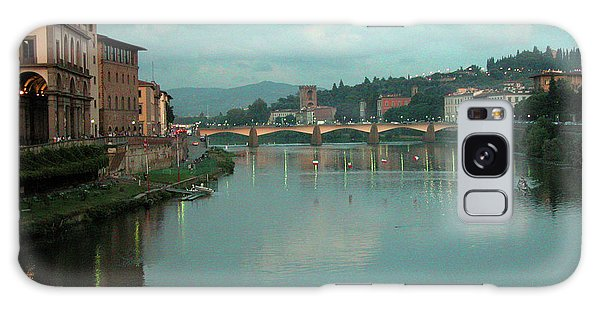 Galaxy Case featuring the photograph Arno River, Florence, Italy by Mark Czerniec