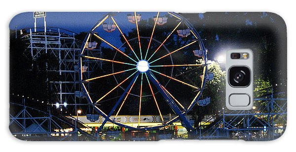 Arnolds Park At Night Galaxy Case
