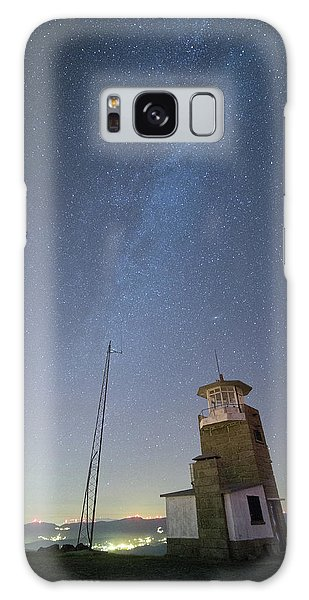 Galaxy Case featuring the photograph Arouca And The Milky Way by Bruno Rosa