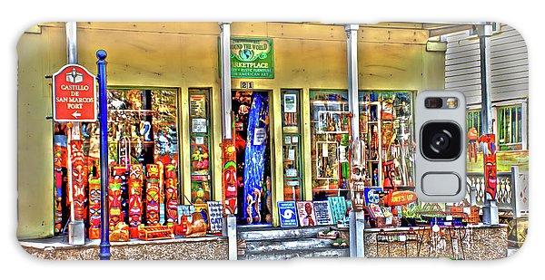 Around The World Marketplace Saint Augustine Galaxy Case