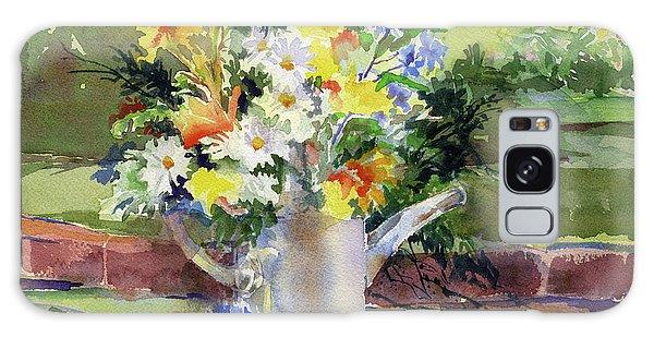 Cut Flowers Galaxy Case