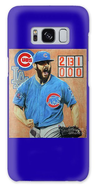 Arrieta No Hitter - Vol. 1 Galaxy Case