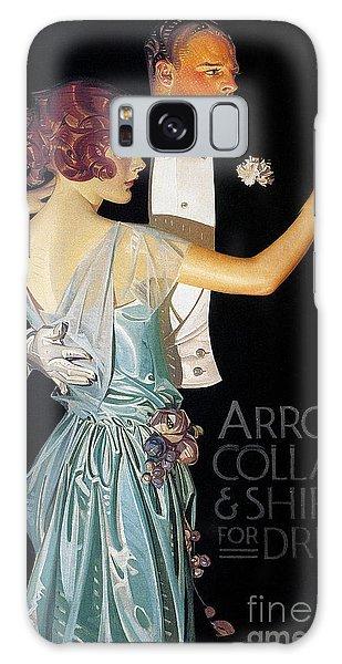 Arrow Shirt Collar Ad, 1923 Galaxy Case
