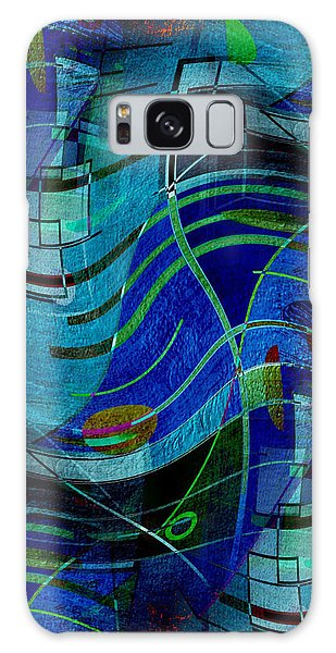 Art Abstract With Culture Galaxy Case by Sheila Mcdonald