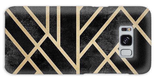 Art Deco Galaxy S8 Case - Art Deco Black by Elisabeth Fredriksson