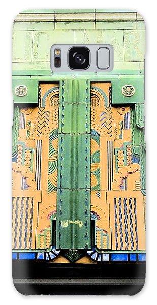 Art Deco Facade At Old Public Market Galaxy Case