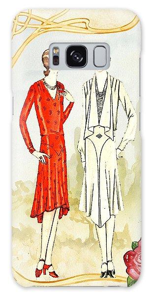 Art Deco Fashion Girls Galaxy Case
