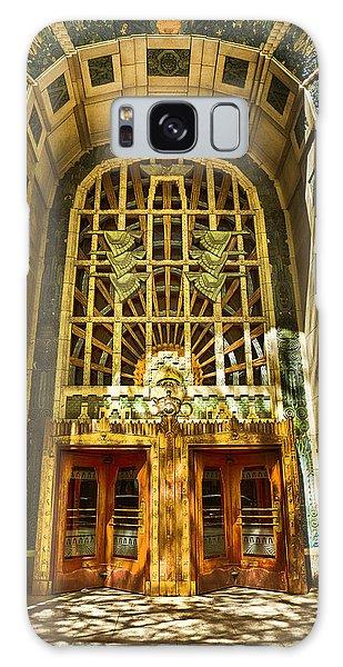 Art Deco Marine Building Galaxy Case