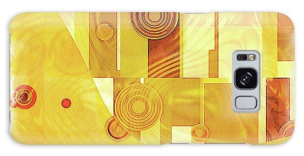 Art Deco Yellow Galaxy Case