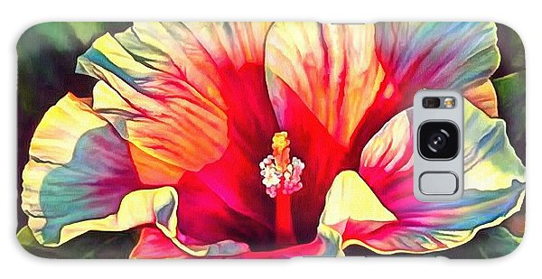 Art Floral Interior Design On Canvas Galaxy Case