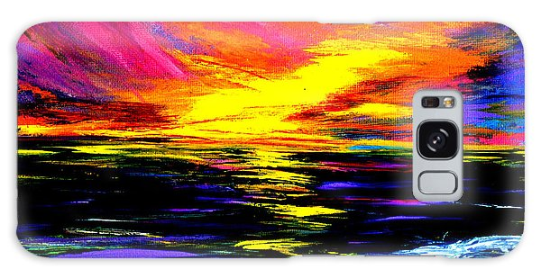 Art For Health And Life. Painting 8. Splendid Galaxy Case
