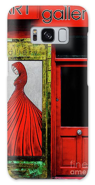 Art Gallery Shop Front Galaxy Case by Lexa Harpell