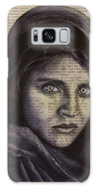 Art In The News 64-afghan Girl Galaxy Case