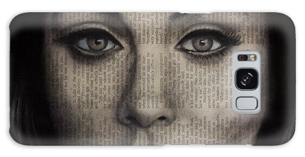 Art In The News 72-adele 25 Galaxy Case by Michael Cross