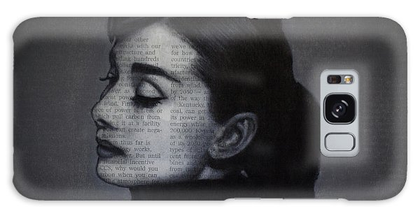 Art In The News 98-audrey Hepburn Galaxy Case