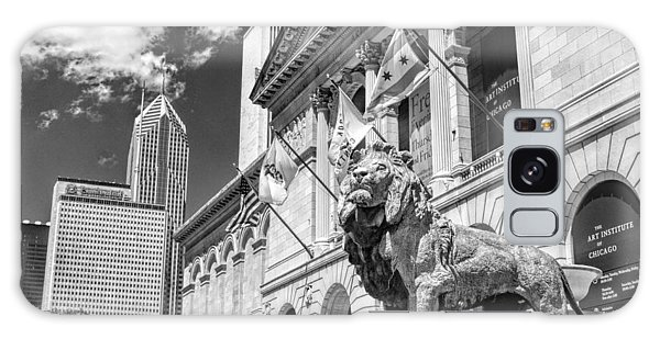 Chicago Art Galaxy Case - Art Institute In Chicago Black And White by Christopher Arndt