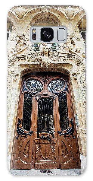 Art Nouveau Doors - Paris, France Galaxy Case by Melanie Alexandra Price