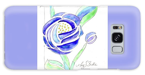 Art Nouveau Roses II Galaxy Case