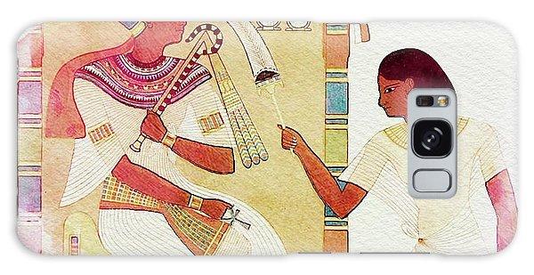 Anubis Galaxy Case - Art Of Ancient Egypt by Sarah Kirk