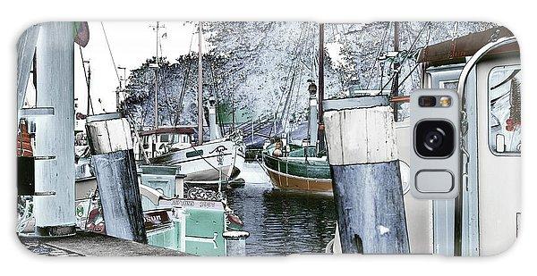 Art Print Boat 2 Galaxy Case