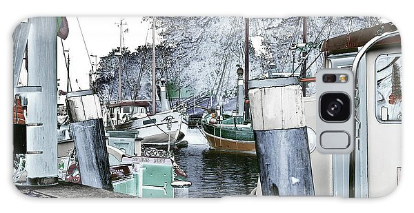 Art Print Boat 2 Galaxy Case