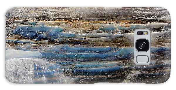 Art Print Cliff 1 Galaxy Case