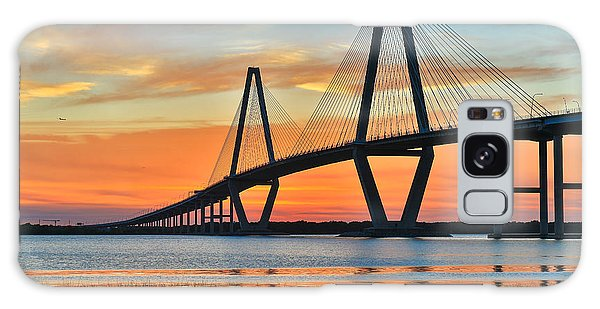 Arthur Ravenel Jr. Bridge At Dusk - Charleston Sc Galaxy Case