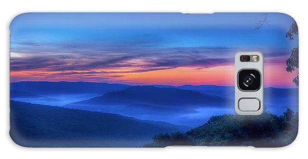 Artist Point Sunrise Galaxy Case