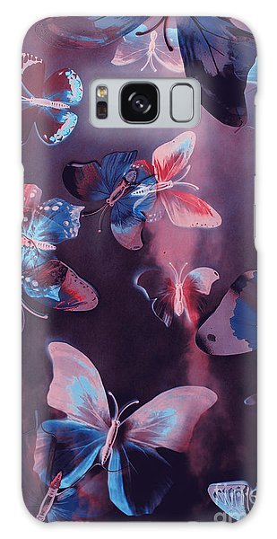 Fairy Galaxy S8 Case - Artistic Colorful Butterfly Design by Jorgo Photography - Wall Art Gallery