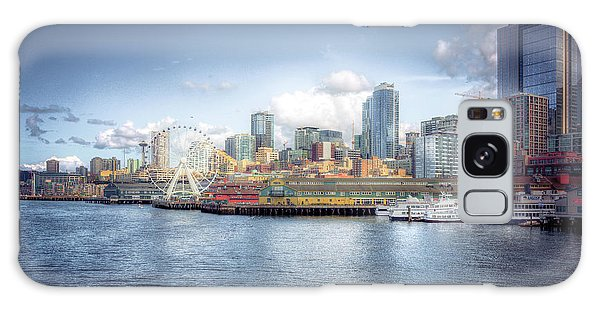 Artistic In Seattle Galaxy Case by Spencer McDonald