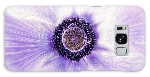 Artistic Poppy Anemone Galaxy Case