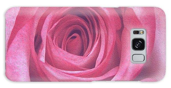 Artistic Red Rose Galaxy Case
