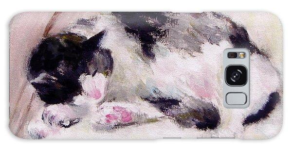 Artist's Cat Sleeping Galaxy Case