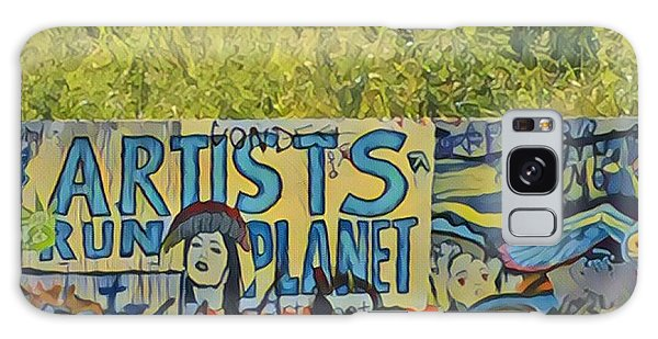 Artists Run The Planet Galaxy Case