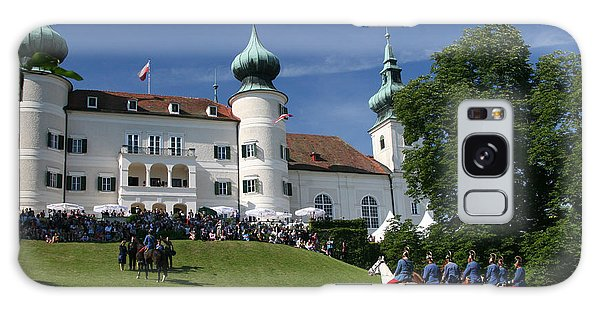 Artstetten Castle In June Galaxy Case