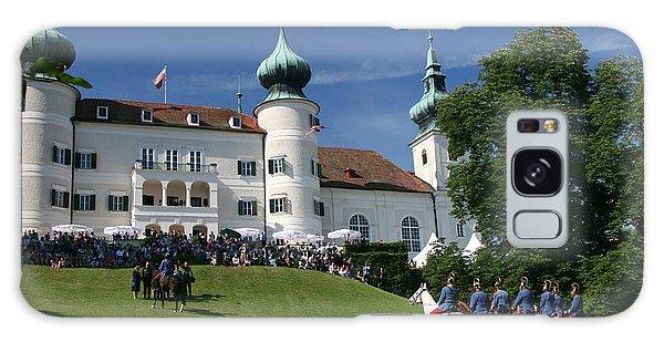 Artstetten Castle In June Galaxy Case