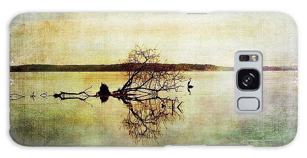 Artsy Lake Reflections Galaxy Case