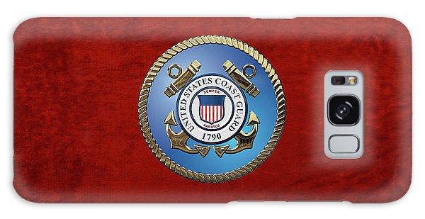 U. S. Coast Guard - U S C G Emblem Galaxy Case