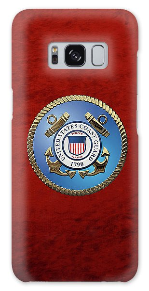 U. S. Coast Guard - U S C G Emblem Galaxy Case