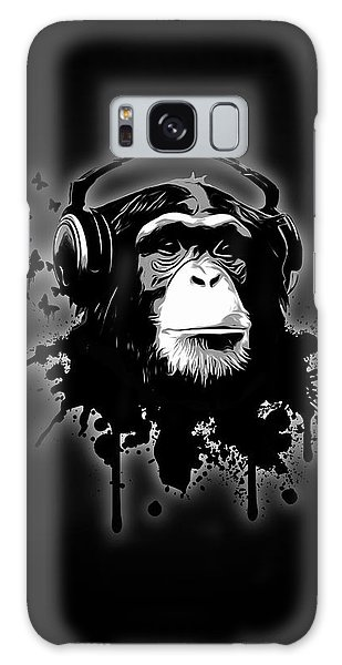 Monkey Business - Black Galaxy Case